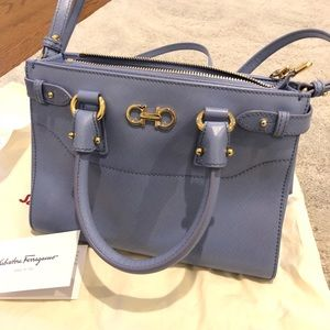 145b211cd2 Salvatore Ferragamo Small Double Gancio Tote
